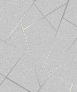 fine decor quartz greysilver geometric glitter textured