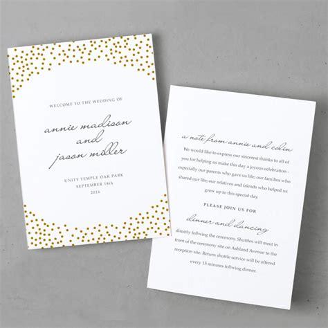 templates for folded invitations invitation folded program template 2444875 weddbook