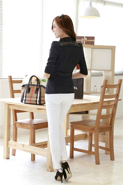 Blazer Wanita Modern blazer wanita hitam modern terbaru 2015 myrosefashion