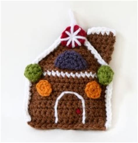 free crochet pattern gingerbread house a christmas angel curly girl s crochet etc