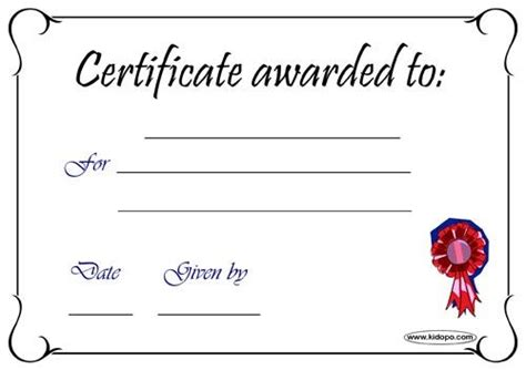blank award certificate templates free search results