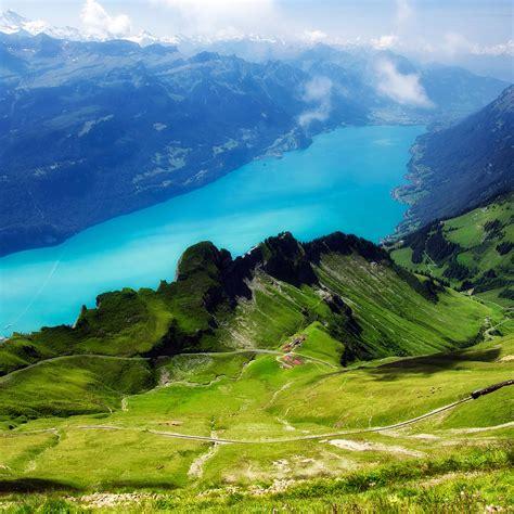 freeios mc wallpaper emerald lake view mountain