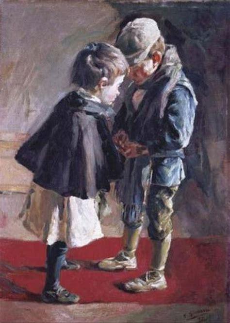 imagenes de niños y niñas jugando ni 195 177 os jugando 243 leo sobre lienzo de francisco gimeno y