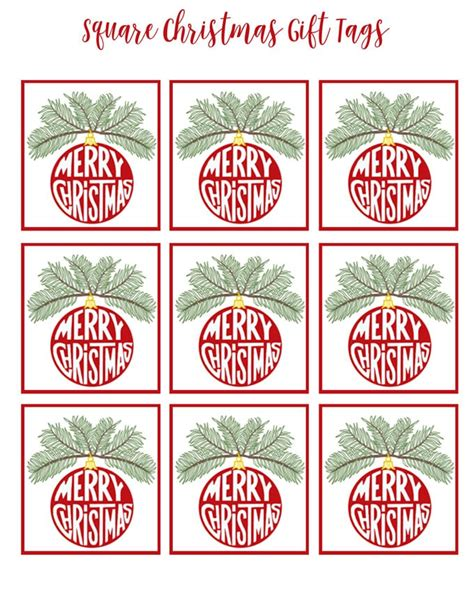 printable christmas gift tags for teachers christmas printable and vignette tour in my own style