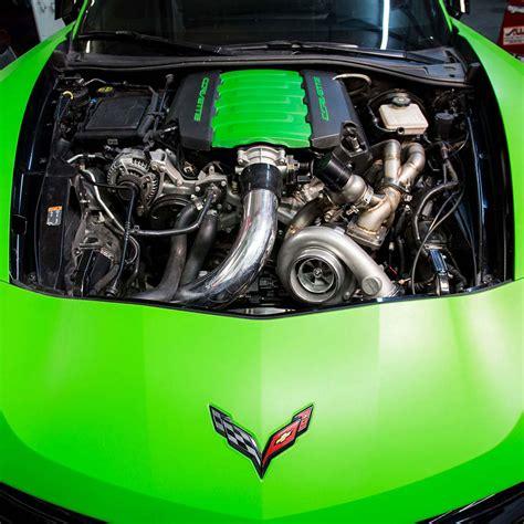 C7 Corvette Turbo Kit by C7 Single Performance Turbo System Kit Ptsfab