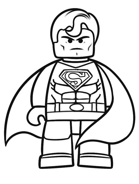 20 Best Lego Coloring Pages Images On Pinterest Lego Lego Colouring Pages For