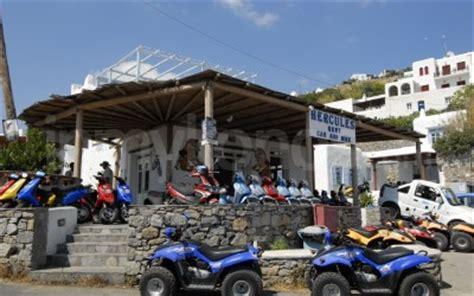Rent A Car Mykonos Port by Noleggio Auto Hercules Bike Mykonos Dettagli Di Contatto