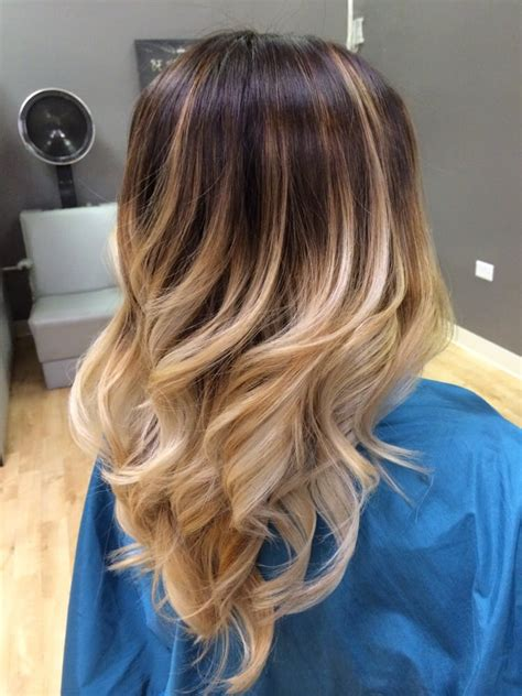 gallery blonde highlights onbre high contrast balayage ombr 233 stylist chanyle nakamura yelp