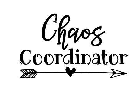Painting Vinyl Upholstery Chaos Coordinator Svg Png Dxf From Dfwdoodledesigns On