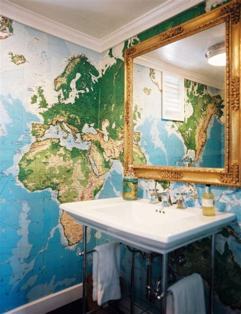 Armchair World Design Ideas Arredare Con Le Mappe Geografiche La Figurina