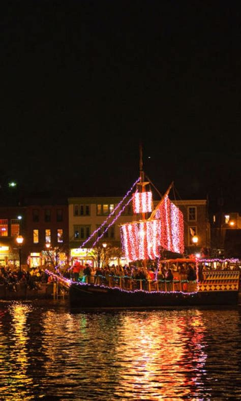 boat lights annapolis md the 20 best christmas towns in america sri lanka