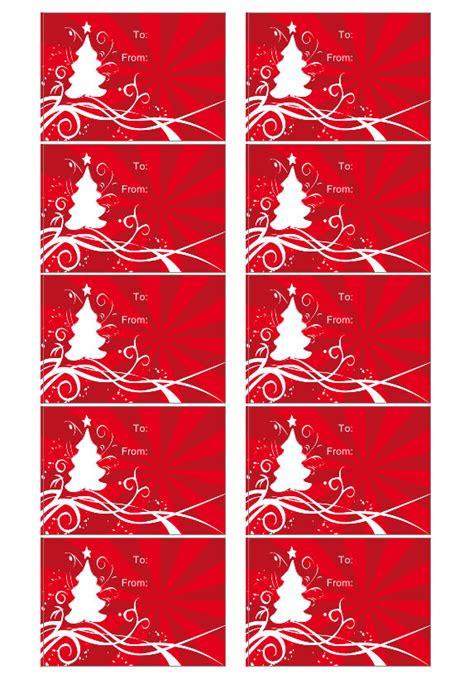 modelo de etiqueta de natal crie etiquetas de presentes