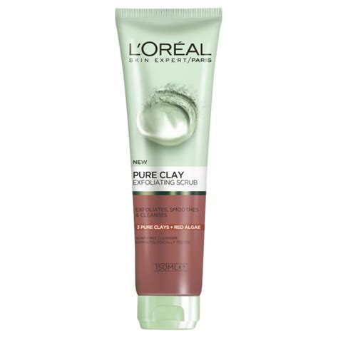Loreal Partners With Armani On Skin Care by Buy Clay Algae Exfoliating Scrub 150 Ml By L