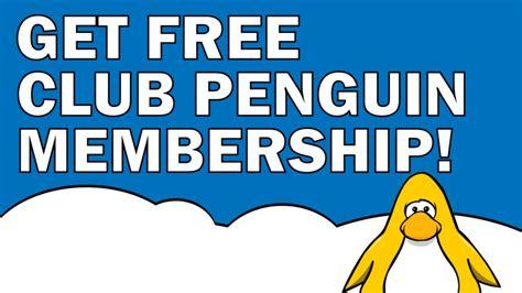 free club penguin membership how to get free membership on club penguin 2015 code no