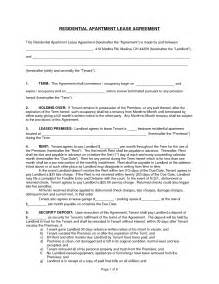 apartment lease agreement template best photos of apartment rental agreement template