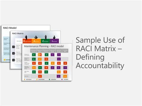 raci powerpoint template sle use raci matrix presentations