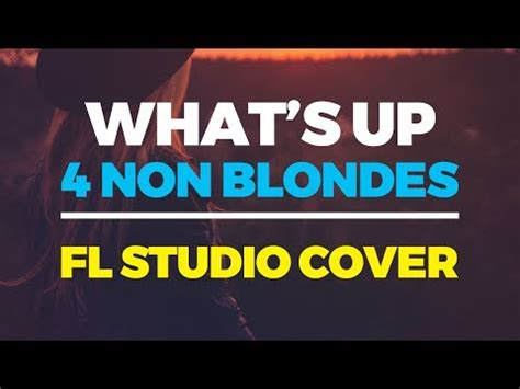 4 non blondes whats up youtube whats up 4 non blondes unfinished guitar cover youtube