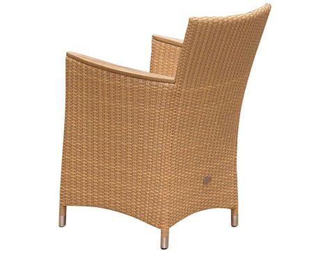 wicker dining chairs with cushions royal teak helena wicker cushion honey dining chair hefwho