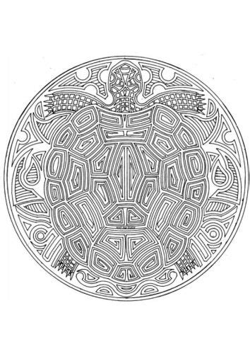 turtle mandala coloring pages printable coloring page sea turtle mandala my next tattoo s
