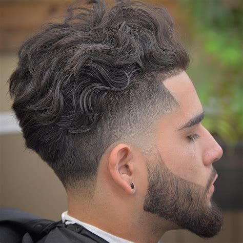 new over ear tapers and fades 30 prime top trend fade haircut styles for curly hair for