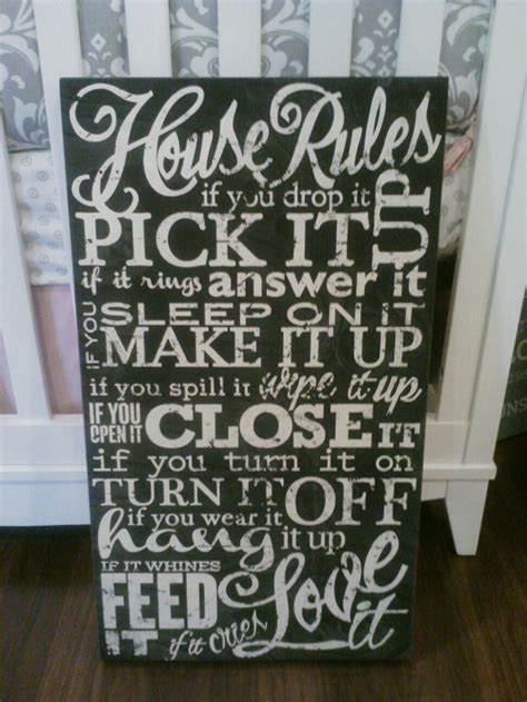 house rules design shop twelve timbers house rules wall hanging