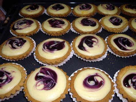 Puding Keju Blueberry resepi blueberry cheese tart resepi bonda