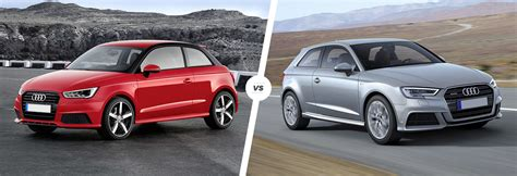 difference between audi a3 and a4 audi a1 vs a3 side by side comparison carwow