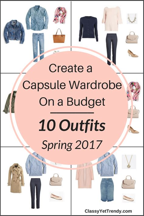 New Wardrobe On A Budget create a stay at home capsule wardrobe 10 summer