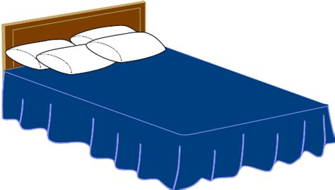 bed cartoon clip art of bed clipart best