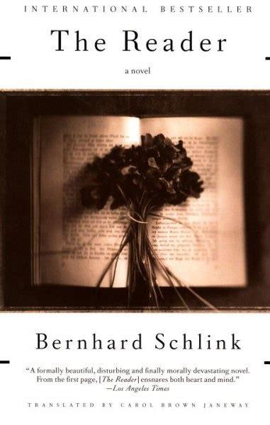 the reader the reader bernhard schlink books worth reading