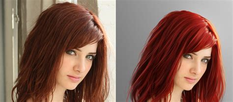Different Hairstyle Photoshop by A Different Hair Style In Photoshop Photoshop