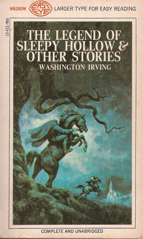 the legend of sleepy hollow books magnum easy eye books the legend of sleepy hollow