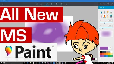 How To Make A Meme In Paint - the new microsoft paint will blow you away youtube