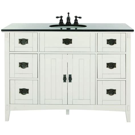 home decorators collection artisan 48 in w bath vanity in