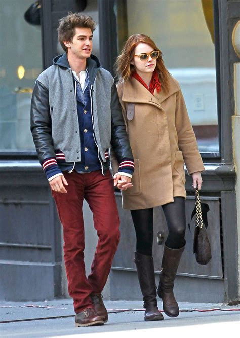 emma stone y andrew garfield a e in ny andrew garfield and emma stone photo 28296938