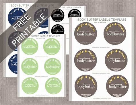 printable product labels 1000 images about labels on pinterest body butter