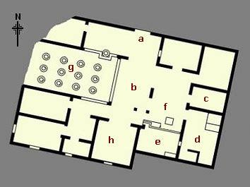 villa rustica floor plan villa carmiano ad79eruption