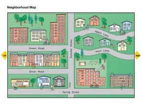 Neighborhood Map Neighborhood Map National Geographic Society