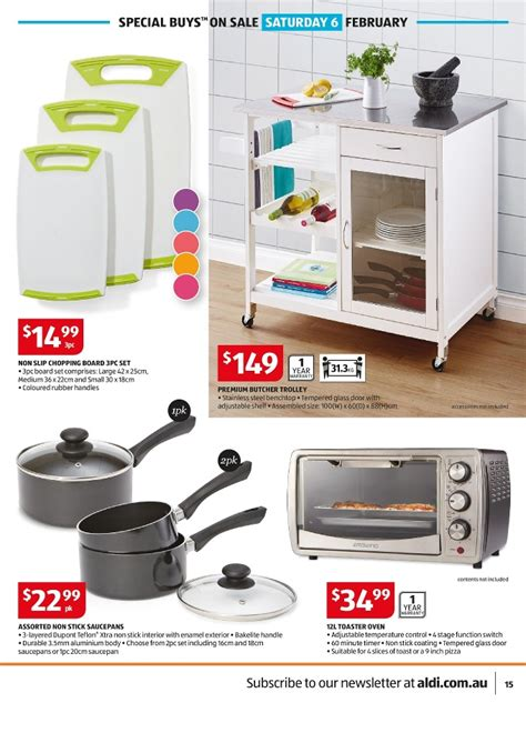 What Can You Make In A Toaster Oven Aldi Special Buy Catalogue 6 9 Feb 2016