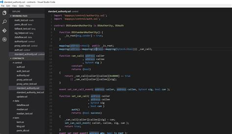 tutorial acl linux solidity visual studio code ethereum tutorial ethereum