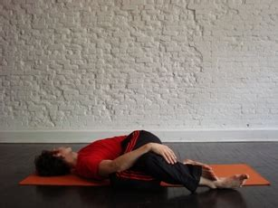 Reclining Twist Pose by 3 Poses To Help You Relax