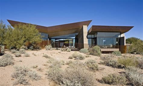 the desert wing house design by brent kendle