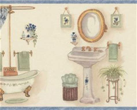 bathroom border wallpaper bathroom wallpaper borders