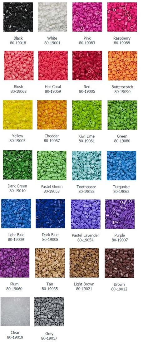 list of perler bead colors 37 best images about perler tips on middle on