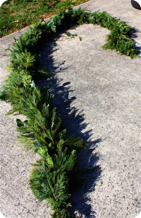 evergreen garland how to make evergreen garland or swags