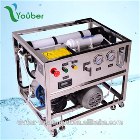 sea water cleaning osmosis plant movable seawater