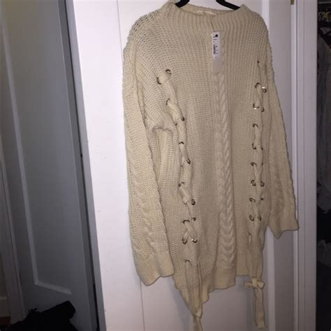 oversized chunky cable knit sweater 19 topshop dresses skirts nwt chunky oversized