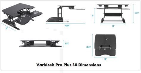 Varidesk The Adjustable Height Sit Stand Desk by Compare Height Adjustable Sit Stand Desks Varidesk Pro