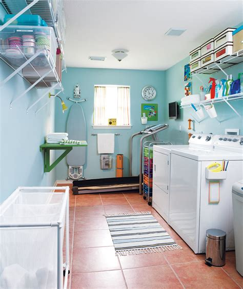 easy laundry room makeovers 16 before and after room makeovers real simple