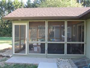 Screened Patio Designs Closed In Porches Screened Patios Pictures Garden